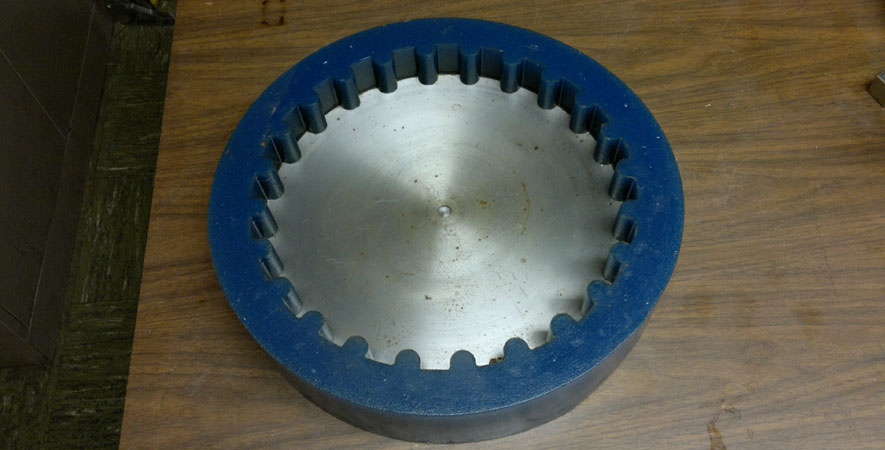 Custom Cast Urethane Parts Industrial
