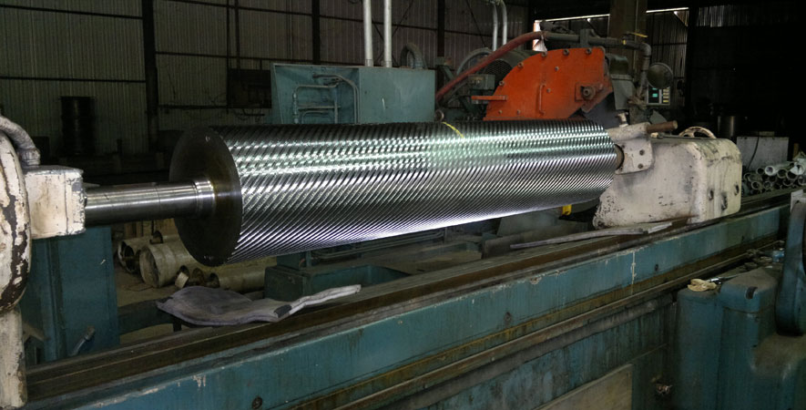 Industrial Steel and Chromeplated Rollers